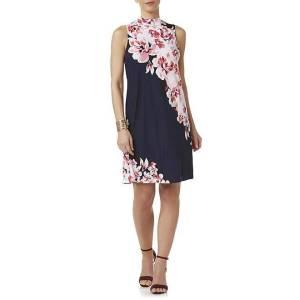 Tiana B Women's Sleeveless Shift Dress – Floral