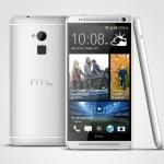 HTC One max Glacial Silver 3V