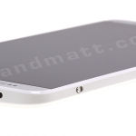 HTC One Max angled top