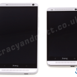 HTC One Max vs One (full front views)