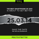 All New HTC One coming March 25th