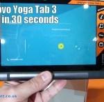 The Lenovo Yoga Tab 3 in 30 seconds