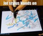 Jot stylus Hands on