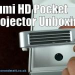 Qumi Q6 HD Pocket Projector Unboxing