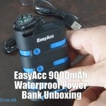 EasyAcc 9000mAh Waterproof Power Bank Unboxing
