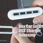 Box Car Smart USB Charger Unboxing
