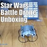 Star Wars Battle Drone Darth Vader's TIE Advanced X1 Unboxing