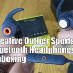 Creative Outlier Sports Bluetooth Headphones Unboxing