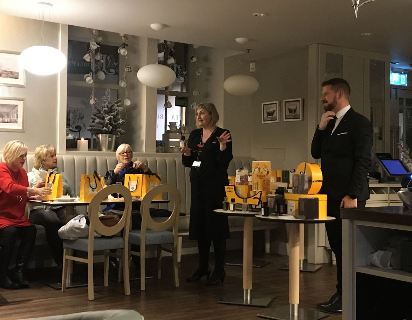 Acqua di Parma event with Debbie Cripps and Gary Collett