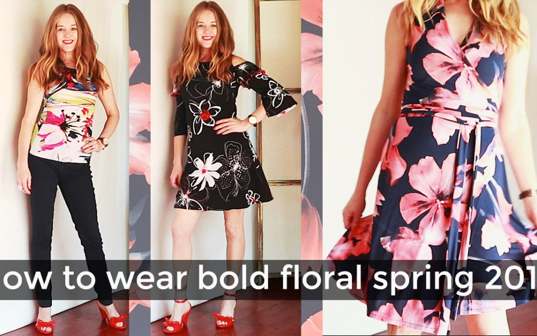 How to wear trends for women over 40 – the big floral spring trend