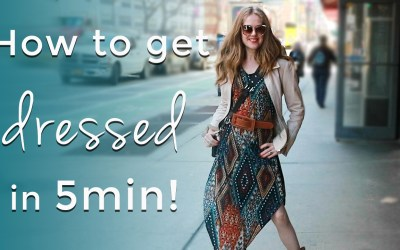 Get dressed in 5min for women over 40