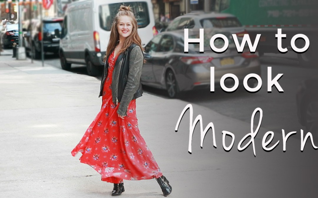 How to look modern for women over 40 - spring style tips for women over 40