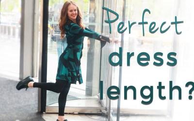 Dress length for short women over 40