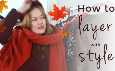 How to layer your clothes with style