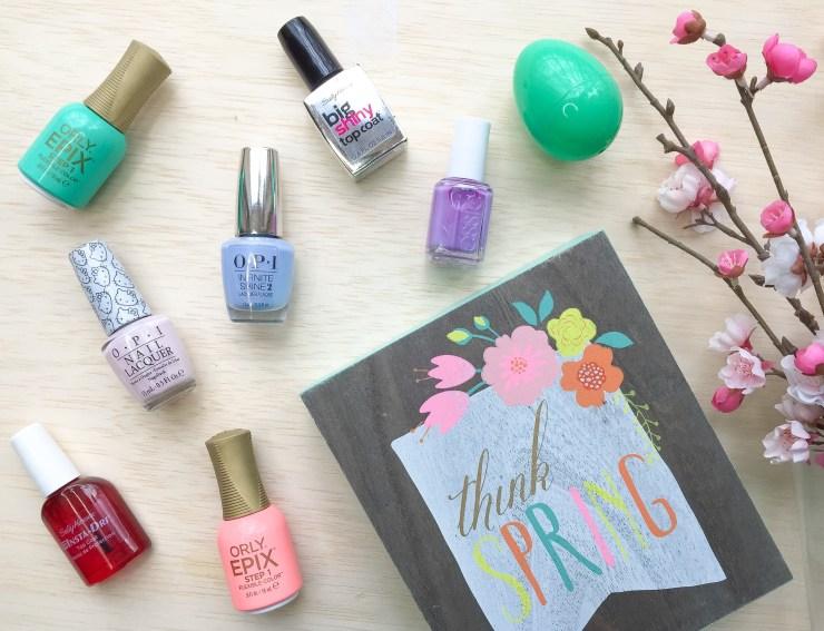 Favorite 5 Spring Nail Polish Colors