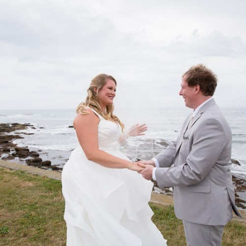 brenton point, first look, ocean cliff wedding, wedding, tracy jenkins photography, wedding photography, beach wedding, newport wedding, ocean cliff, rhode island