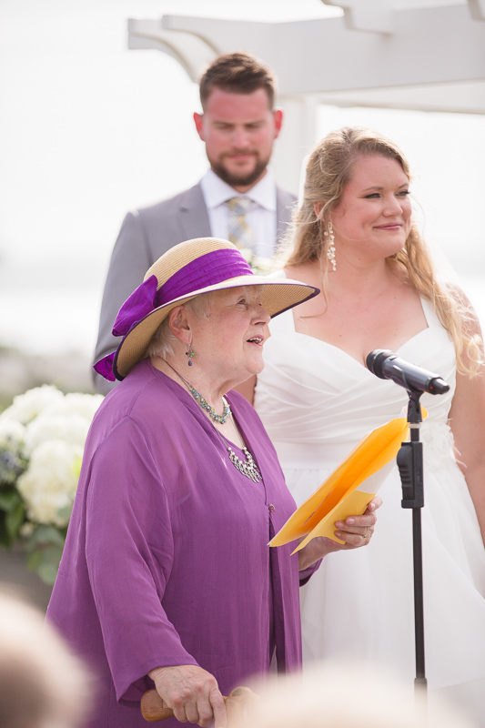 reading, ceremony, wedding ceremony, ocean cliff wedding, wedding, tracy jenkins photography, wedding photography, beach wedding, newport wedding, ocean cliff, rhode island
