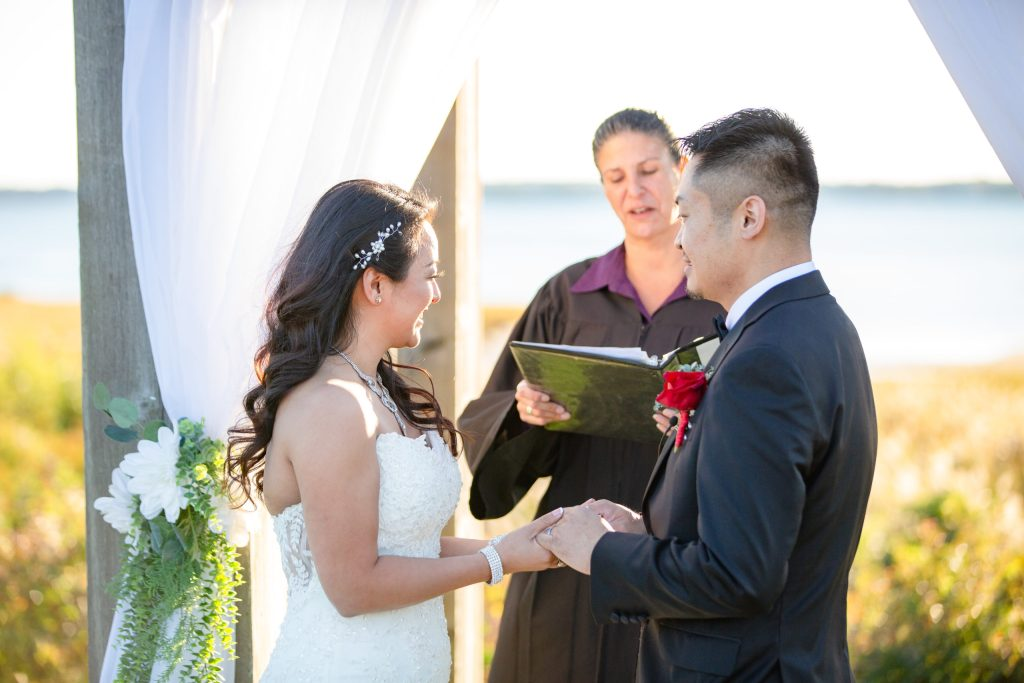 Harbor lights, warwick, rhode island, RI, Tracy Jenkins Photography, RI wedding photographer, Rhode Island wedding photographer, micro-wedding, wedding ceremony