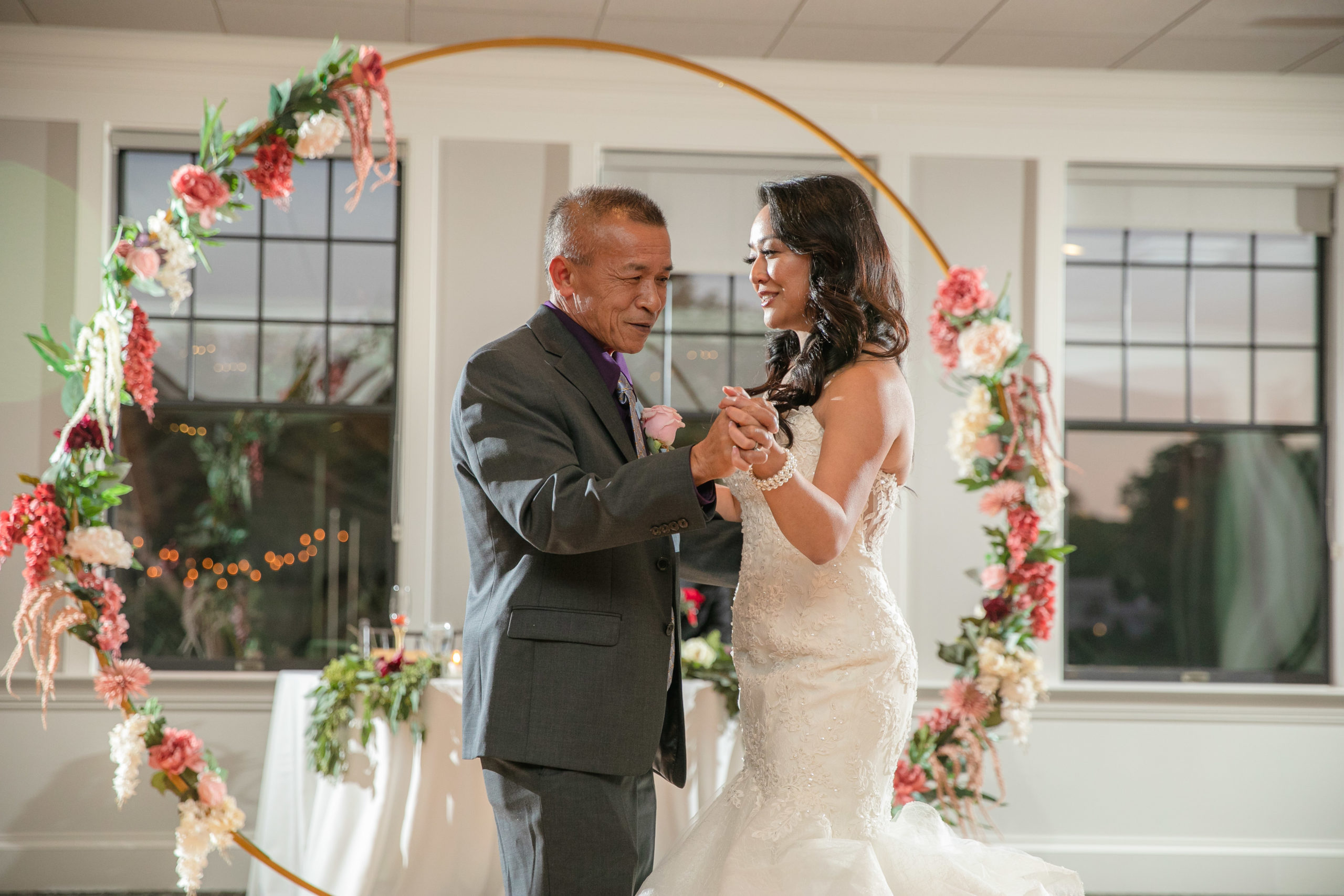 Harbor lights, warwick, rhode island, RI, Tracy Jenkins Photography, RI wedding photographer, Rhode Island wedding photographer, micro-wedding, father daughter dance, reception