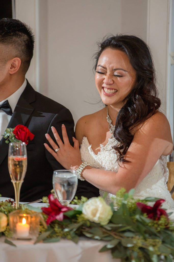 Harbor lights, warwick, rhode island, RI, Tracy Jenkins Photography, RI wedding photographer, Rhode Island wedding photographer, micro-wedding, reception, toasts