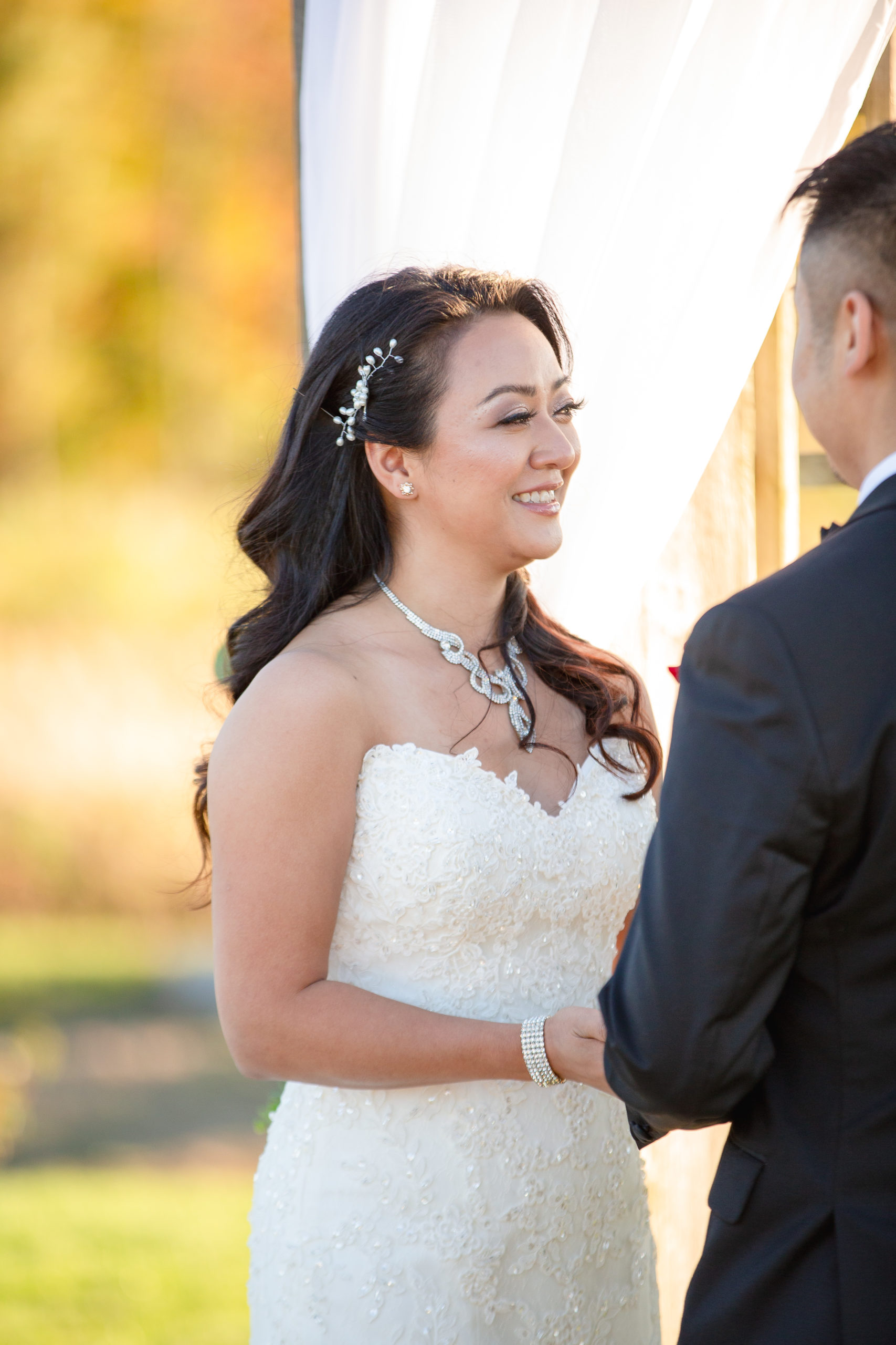 Harbor lights, warwick, rhode island, RI, Tracy Jenkins Photography, RI wedding photographer, Rhode Island wedding photographer, micro-wedding, wedding ceremony, vows, bride