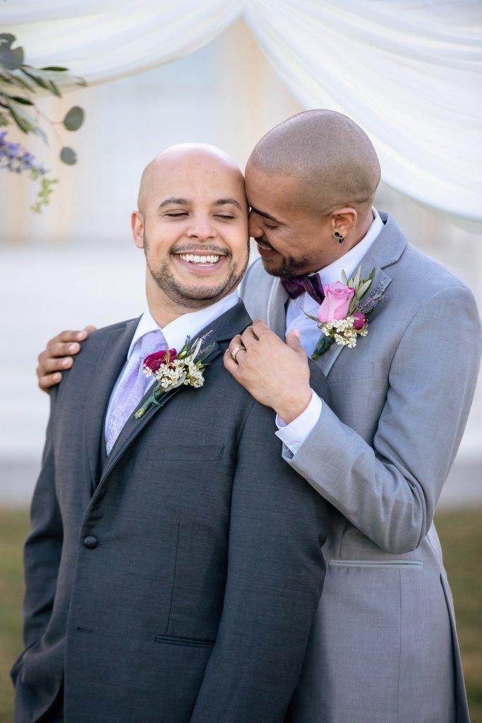 Eisenhower House, Newport, Rhode Island, Tracy Jenkins Photography, wedding, LGBTQ+, LGBT, Gay, Inclusive, Photography, Wedding photography, grooms, portraits
