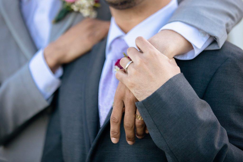 Eisenhower House, Newport, Rhode Island, Tracy Jenkins Photography, wedding, LGBTQ+, LGBT, Gay, Inclusive, Photography, Wedding photography, grooms, rings