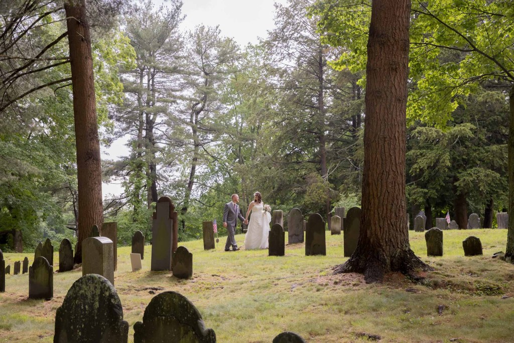 library, wedding, couple photos, off-beat bride, cemetery, tracy jenkins photography, publick house, Massachusetts, new england, photography