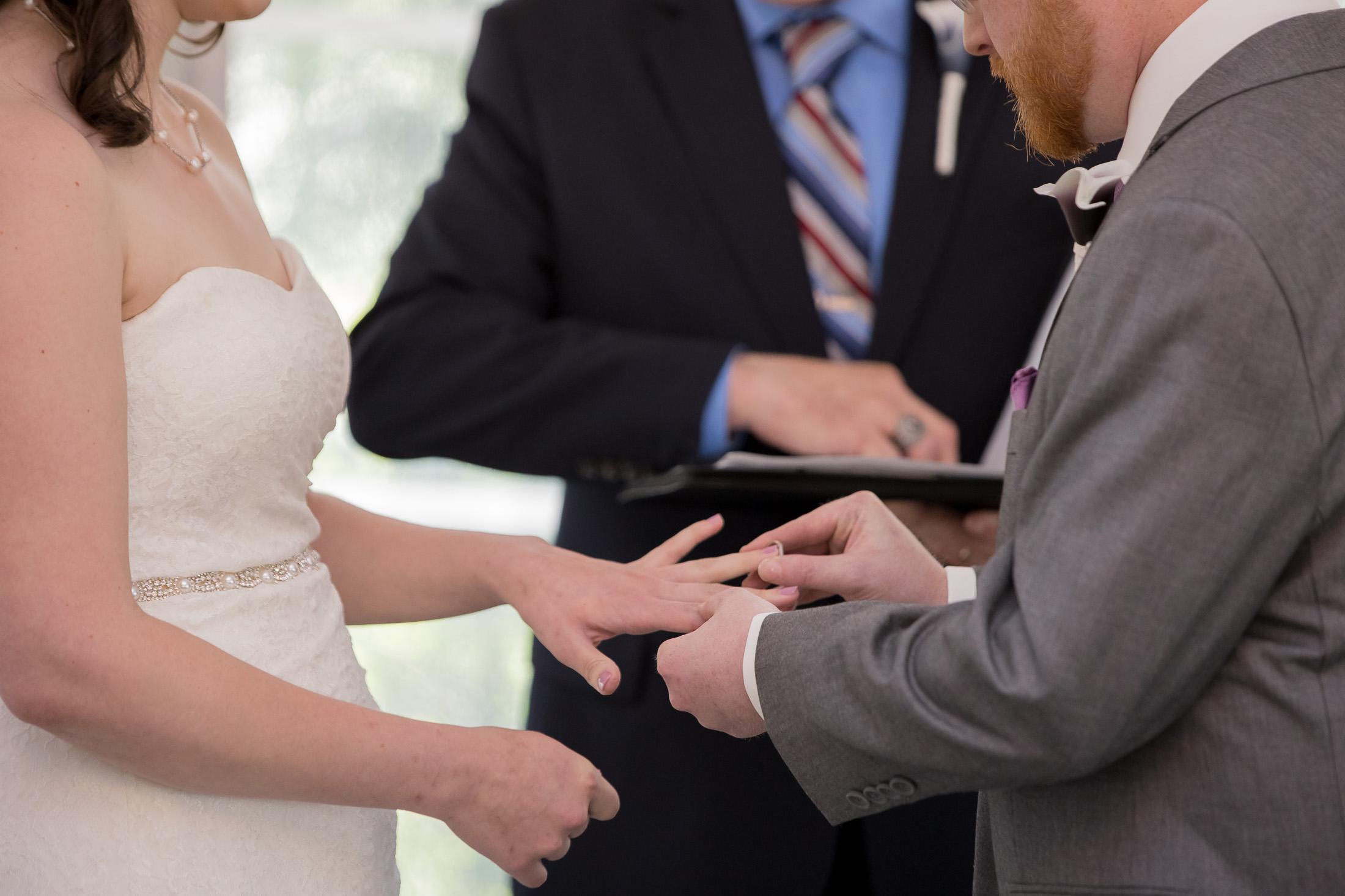 ring exchange, ceremony, wedding, tracy jenkins photography, publick house, Massachusetts, new england,  photography