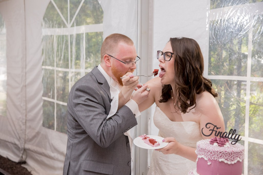 feed the cake, reception, wedding, tracy jenkins photography, publick house, Massachusetts, new england,  photography