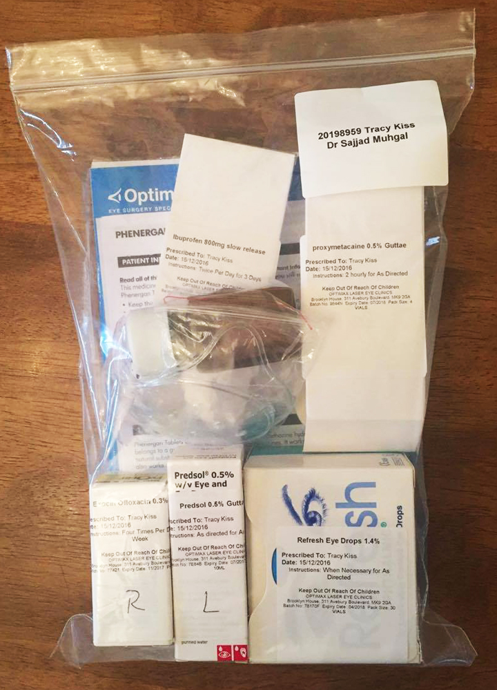 My Post-Surgery Medication And Aftercare Information