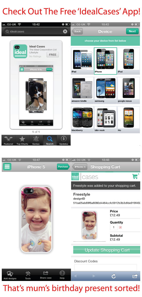 Ideal Cases Also Have A Free App