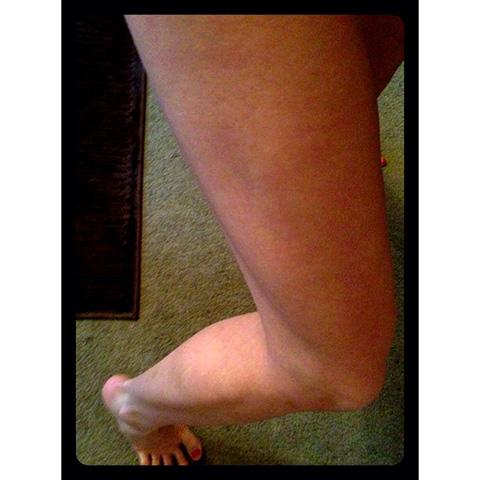 P90X3 Day 18 My Leg Progress