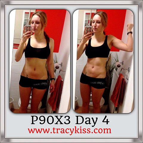 P90X3 day 4 The Challenge