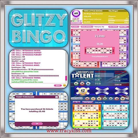 Thanks To Glitzy Bingo I Won Two Lines On Mecca Online