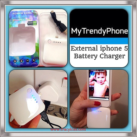 My Trendy Phone iphone 5 External Battery Charger
