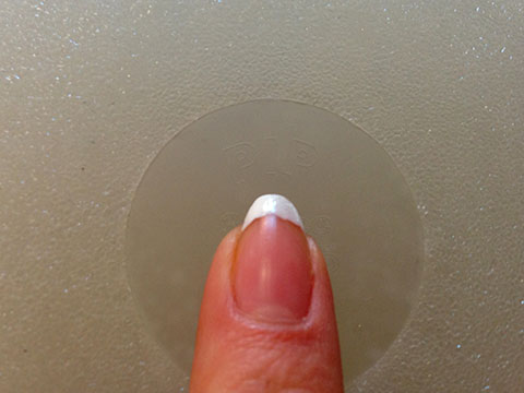 'PIP' Is Stamped On The Reverse Of The Breast Implants That Were Removed