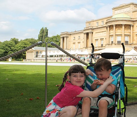 Our Visit To Buckingham Palace