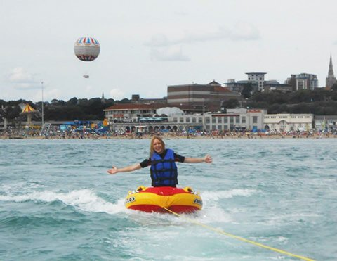 I Conquered My Fear Of Drowning By Throwing Myself Off Of The Back Of A Speedboat