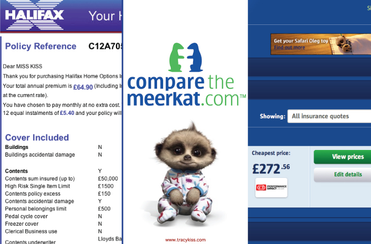Savings On Insurance With Compare The Market