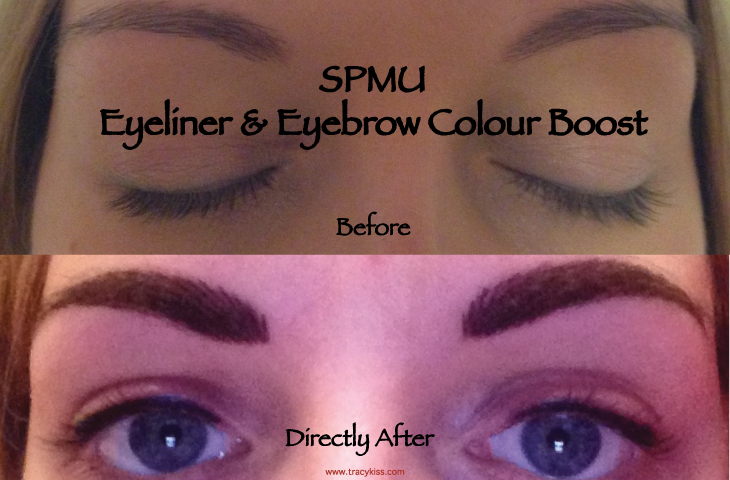 Before & After Semi Permanent Makeup Eyebrow & Eyeliner Colour Boost