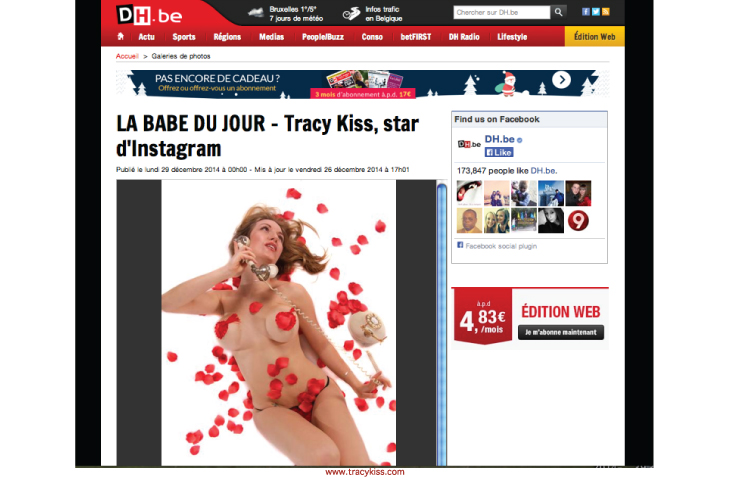 Tracy Kiss In DH.be