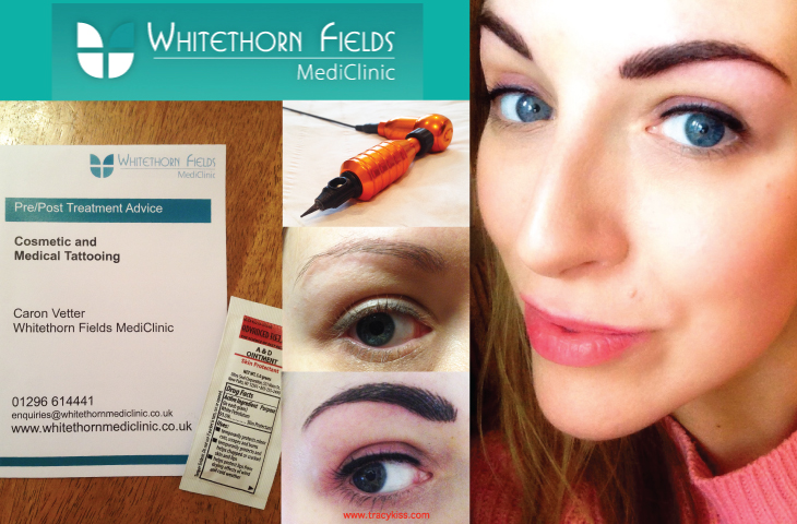 Whitethorn Fields Mediclinic Semi Permanent Makeup Eyebrow & Eyeliner Colour Boost