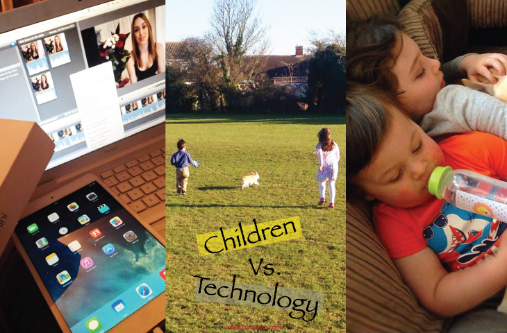 Children Vs. Technology: How Much Is Too Much?