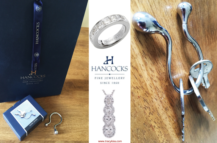 Hancocks Jewellers Georg Jensen Space Keyring