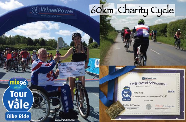 Mix96 Tour De Vale 2015 WheelPower 60km Charity Cycle