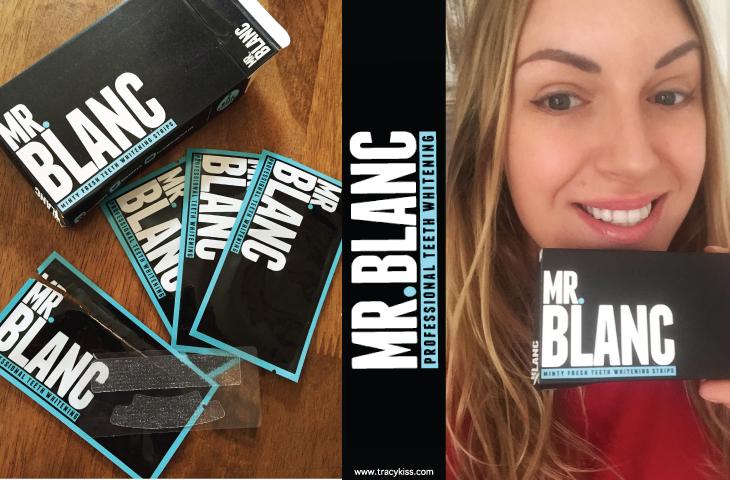 Mr Blanc Non Peroxide Teeth Whitening Strips