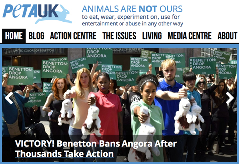Victory For PETA: Angora Is Dropped From Benetton