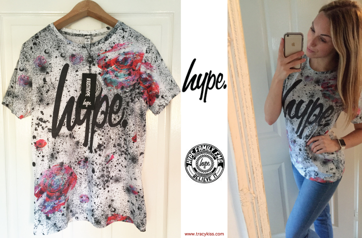 Just Hype Speckle Rose T-Shirt