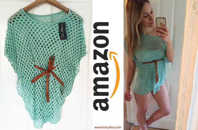 Amazon Wishlist Mint Mesh Tied Tunic